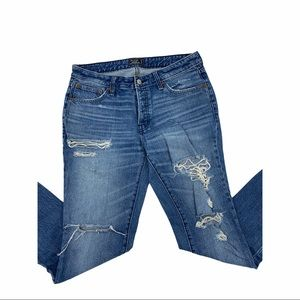 Abercrombie & Fitch Ames Slim Boyfriend Jeans, 27